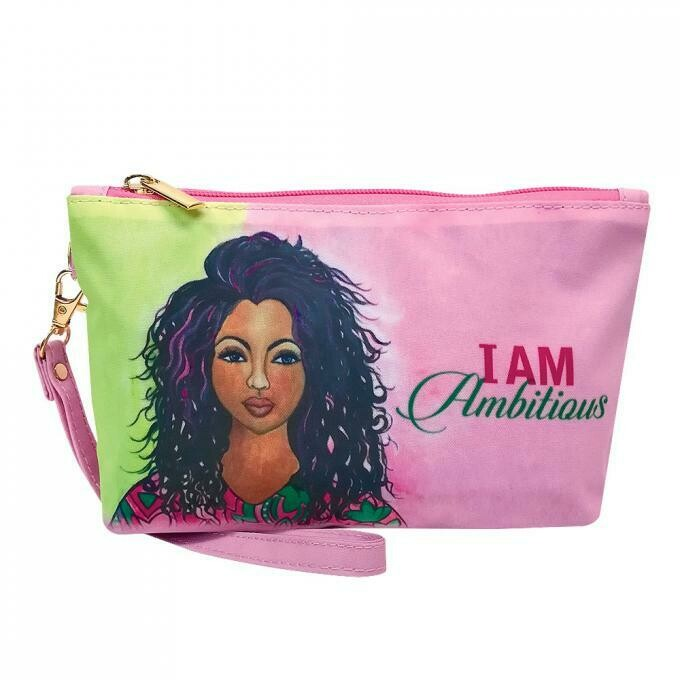Cosmetic Pouch (I Am Ambitious )