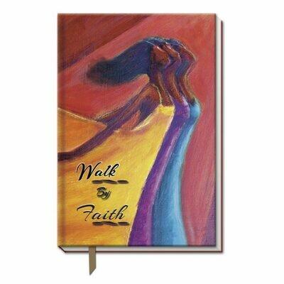 Cloth Bound Journal (Walk By Faith)