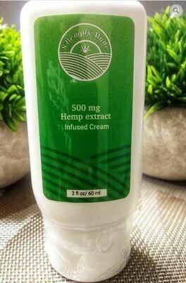 S'Hemply Made CBD Lotion (500 mg)