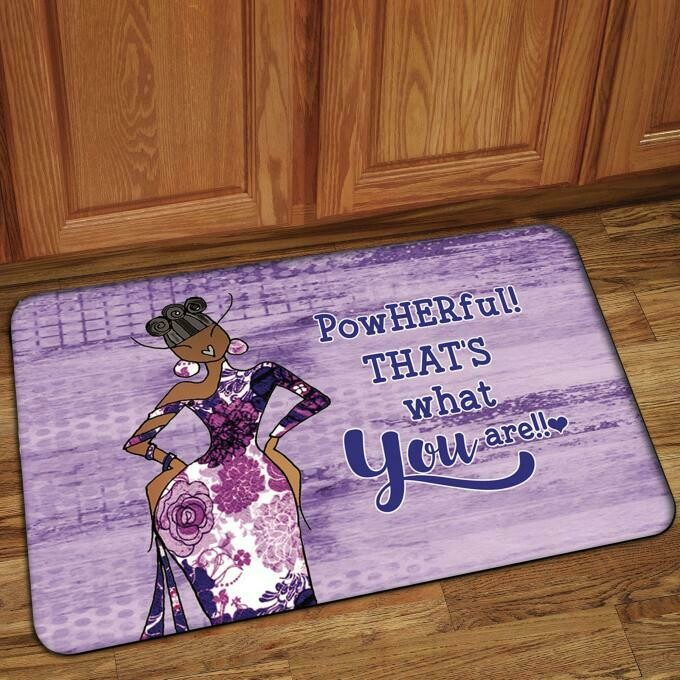 Interior Floor Mat (PowHERful! That's What You Are!)