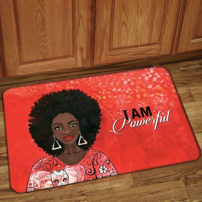 Interior Floor Mat (I Am Powerful)