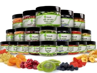 CBD Dried Fruit Snack (4oz-250mg)