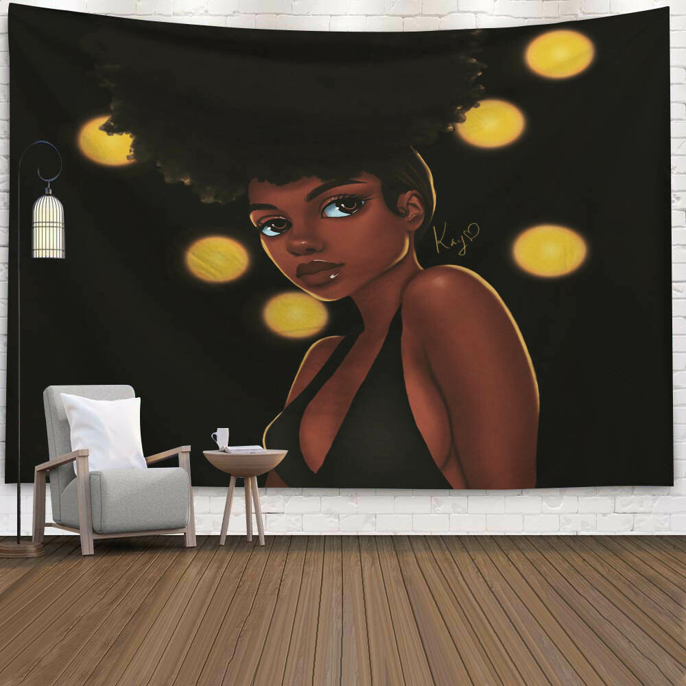 Afrocentric Wall Tapestry (Design #36)