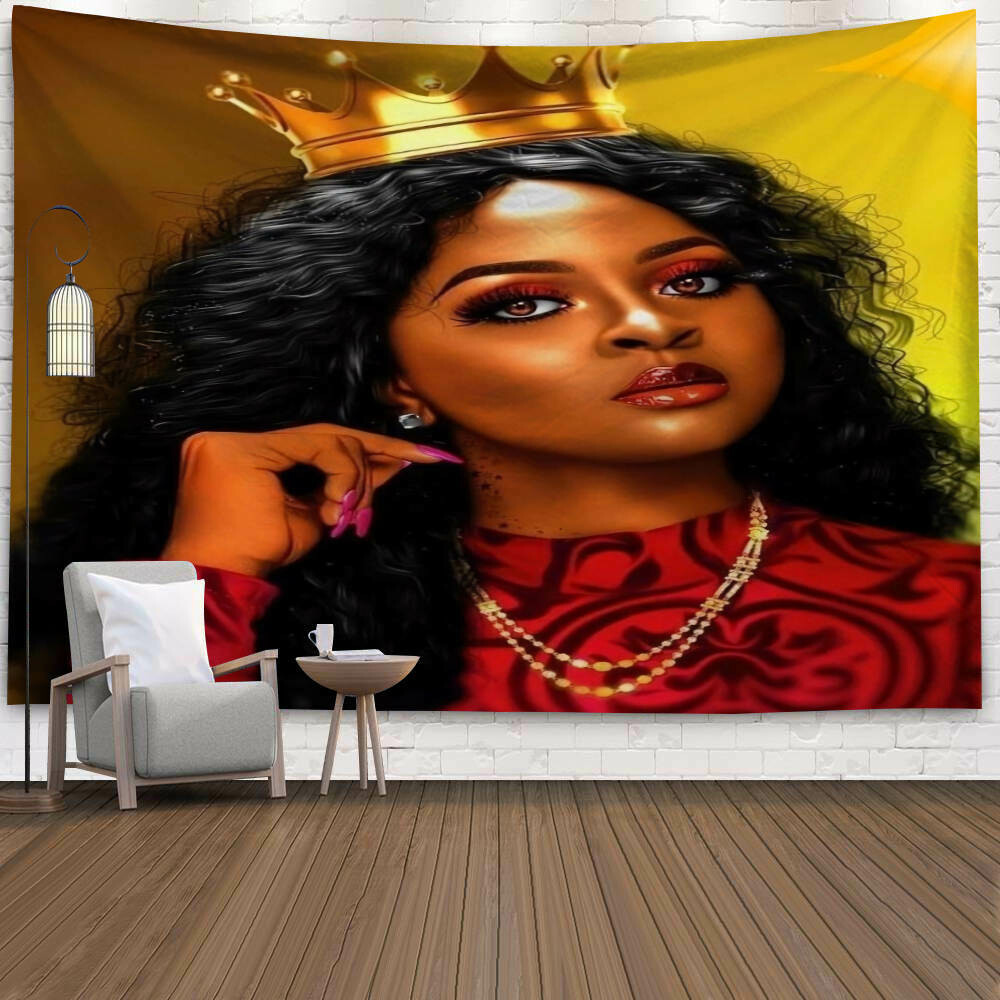 Afrocentric Wall Tapestry (Design #38)