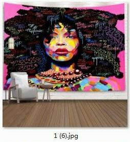 Afrocentric Wall Tapestry (Design #39)