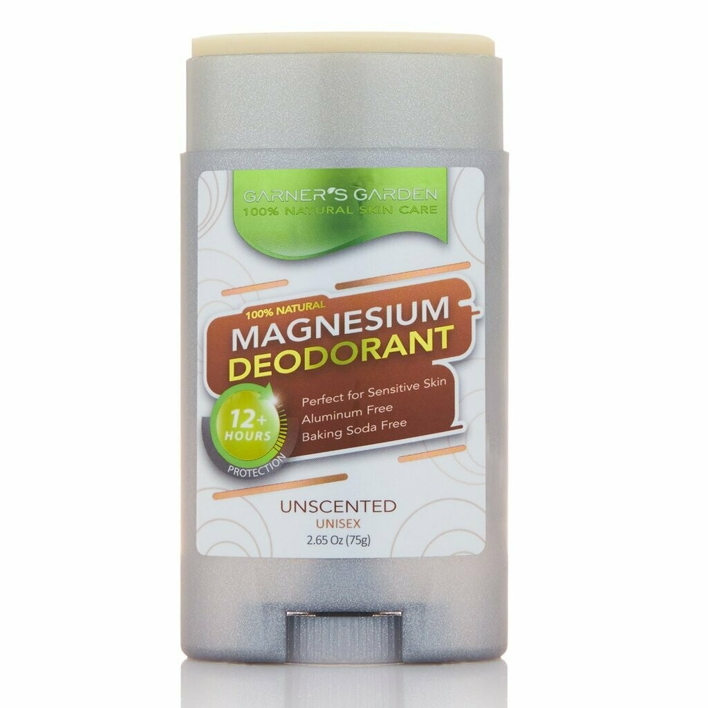 Magnesium Natural Deodorant