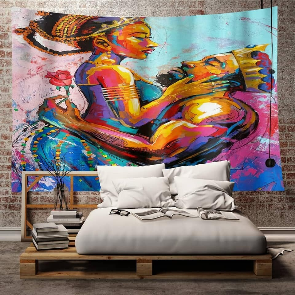 Afrocentric Wall Tapestry (Design #48)