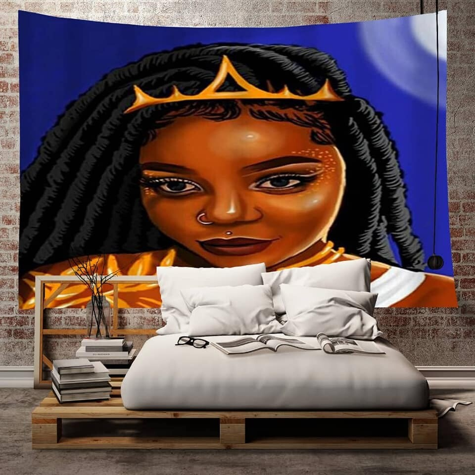 Afrocentric Wall Tapestry (Design #44)