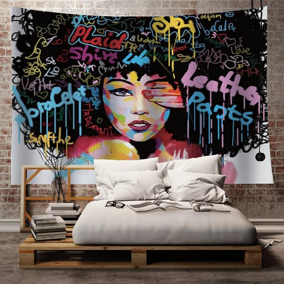 Afrocentric Wall Tapestry (Design #47)
