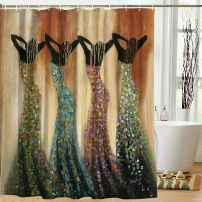 Shower Curtain (Dance of the Summer Solstice)