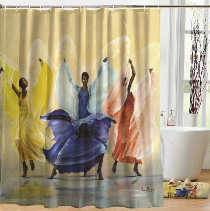 Shower Curtain (Butterflies)