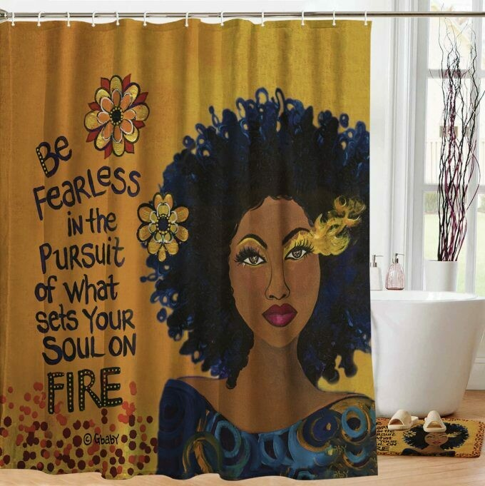 Shower Curtain (Soul on Fire)