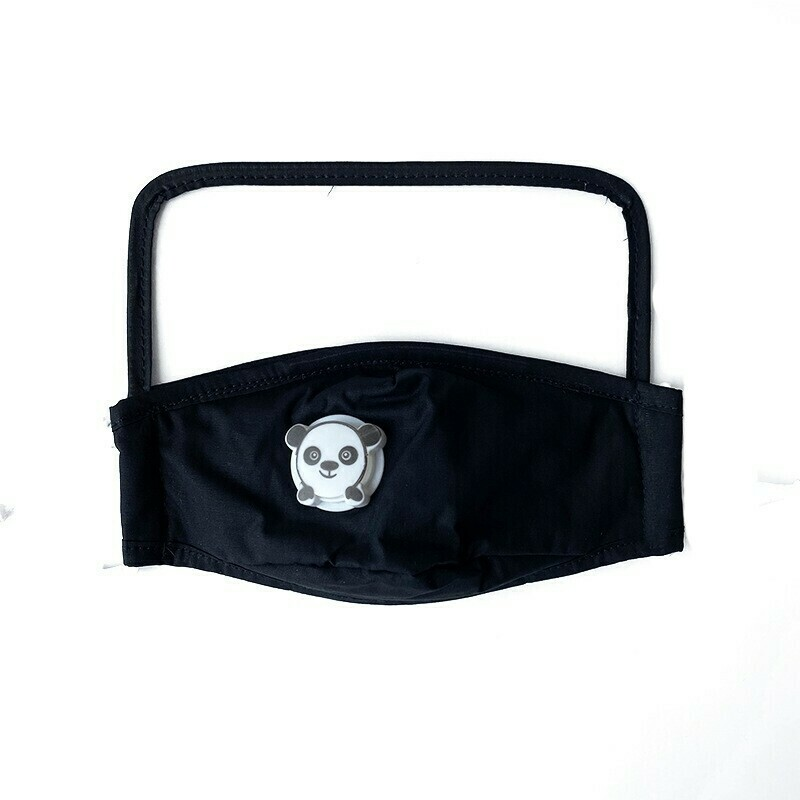 Child Panda Face Shield Mask w/ Filter