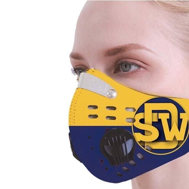 Alma Mater Dual Valve Sport Mask