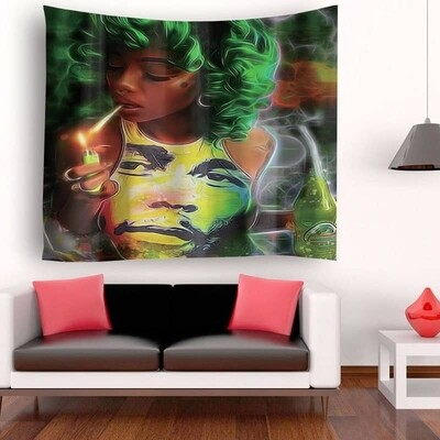 Afrocentric Wall Tapestry (Design #6)