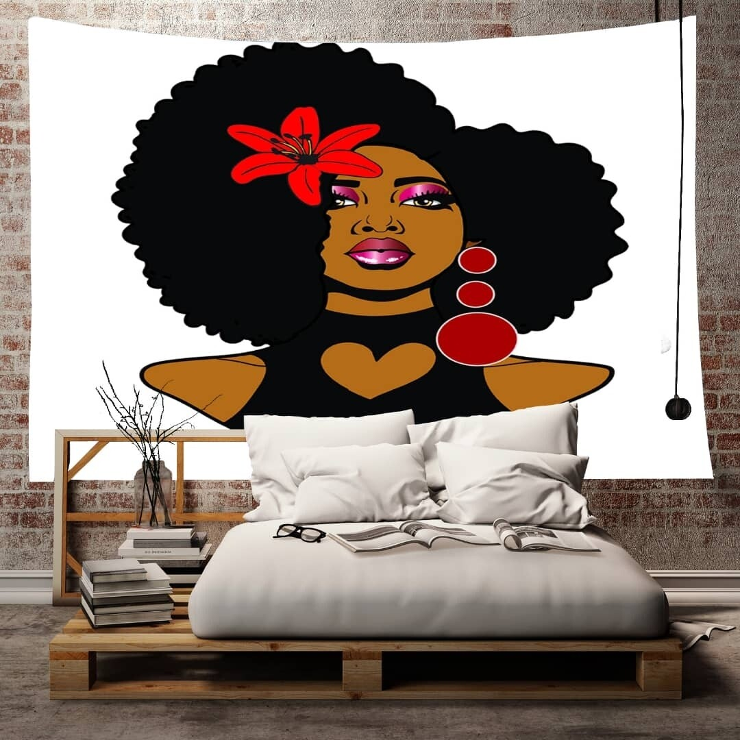 Afrocentric Wall Tapestry (Design #7)