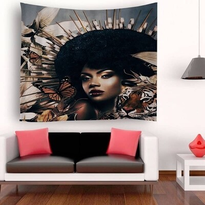 Afrocentric Wall Tapestry (Design #5)
