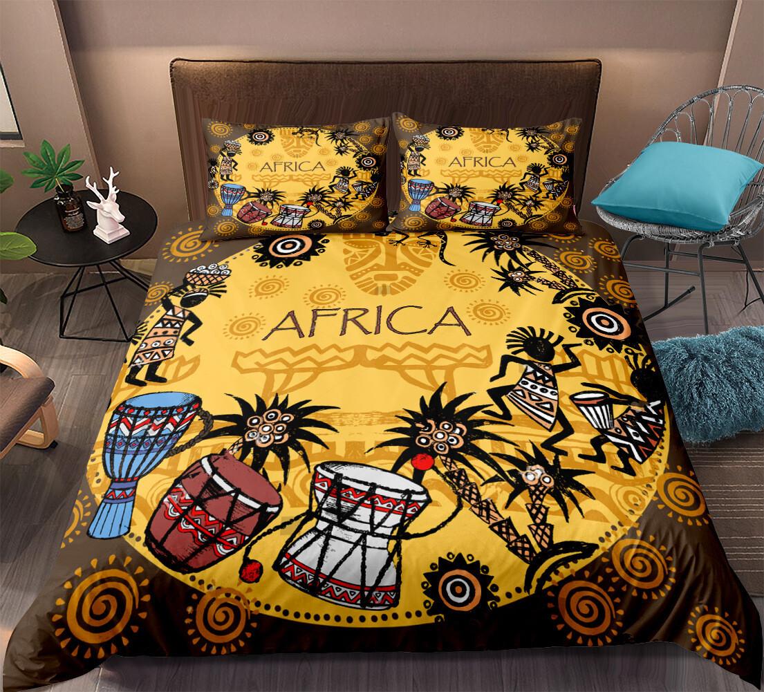Afrocentric Duvet Cover Set (Design #3)