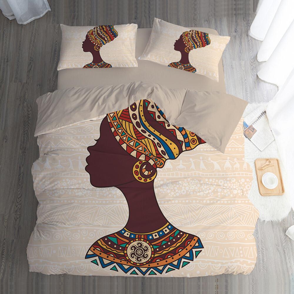 Afrocentric Duvet Cover Set (Design #75)