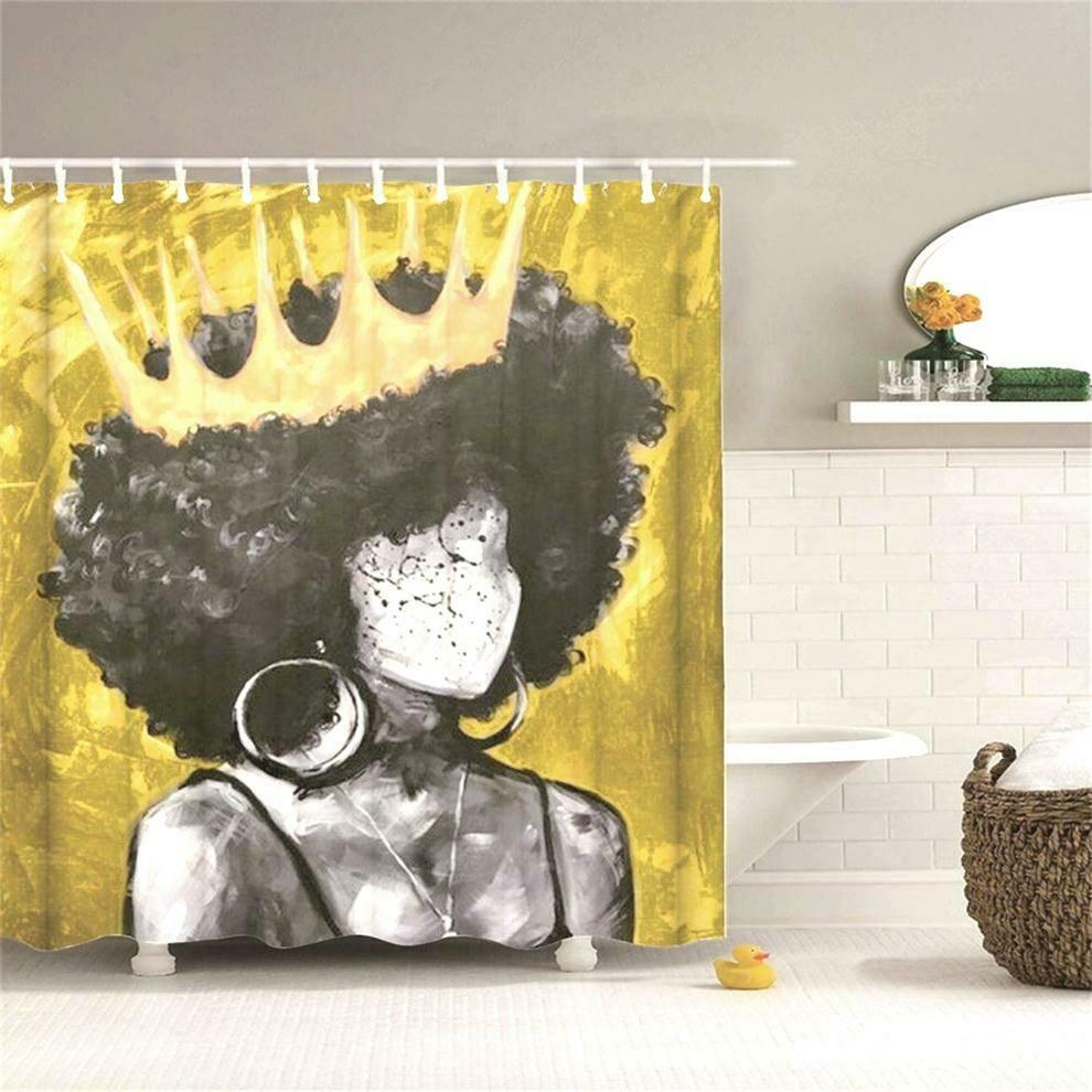 Shower Curtain (Design #3)