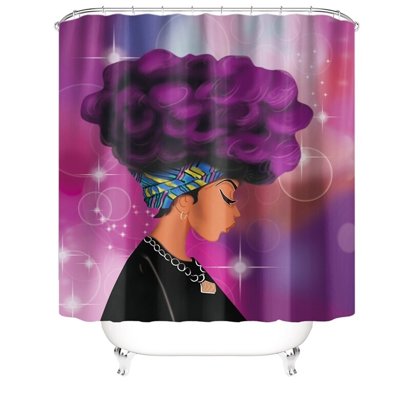 Shower Curtain (Design #1)