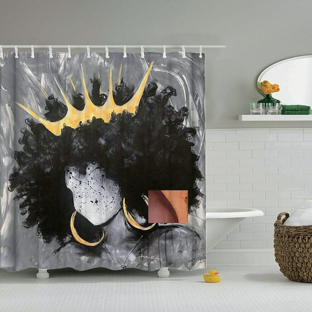 Shower Curtain (Design #4)