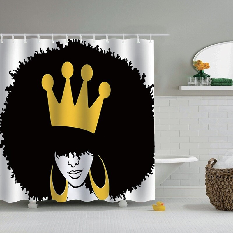 Shower Curtain (Design #5)