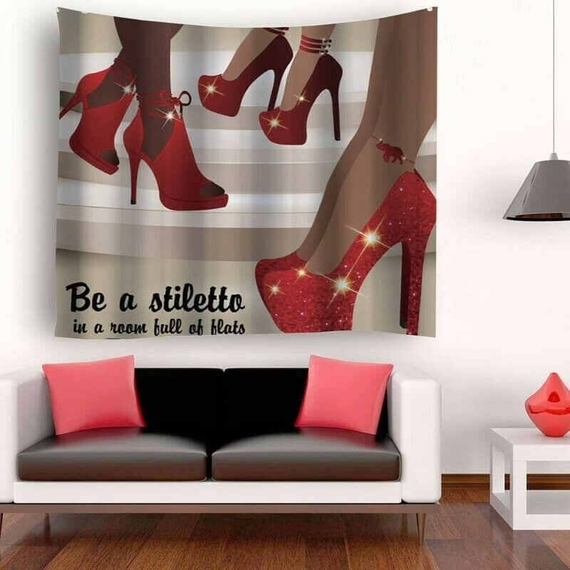 Be A Stiletto Wall Tapestry