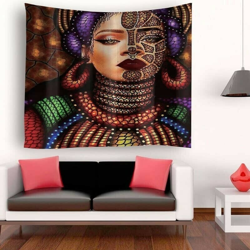Afrocentric Wall Tapestry (Design #27)
