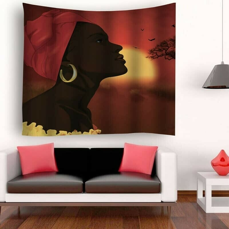 Afrocentric Wall Tapestry (Design #20)
