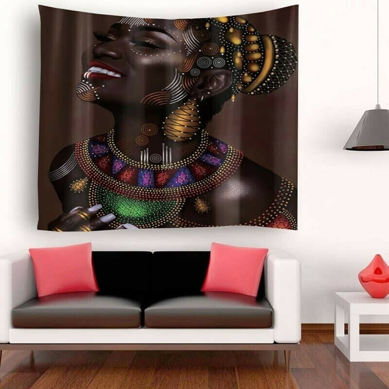 Afrocentric Wall Tapestry (Design #22)
