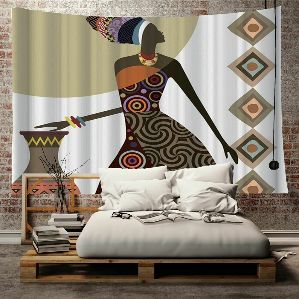Afrocentric Wall Tapestry (Design #23)