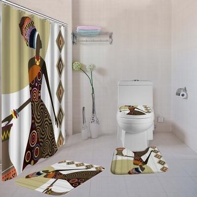 4-piece Bathroom Set (Design #16)