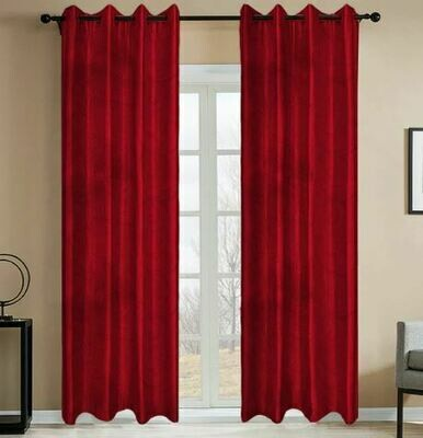Embossed Blackout Curtain Panel