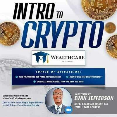 Intro to Crypto Class (E-Class)
