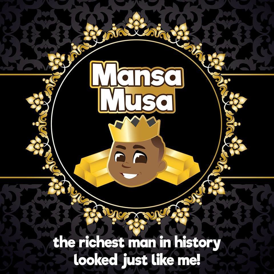 2-Piece Shower Set (***Special Edition***Mansa Musa)
