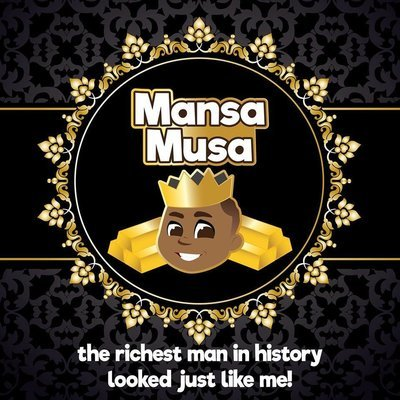 2-Piece Shower Set (***Special Edition***Mansa Musa)