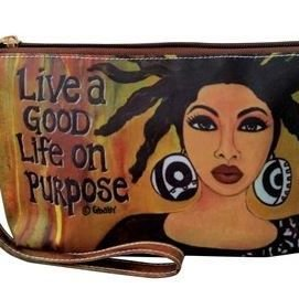 Cosmetic Pouch (Live a Good Life On Purpose )