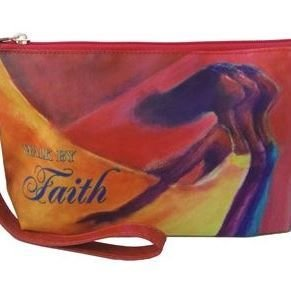 Cosmetic Pouch (Walk by Faith )
