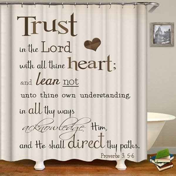 2-Piece Shower Set (Trust In The Lord)