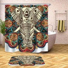 Shower Set (Tribal Elephant)