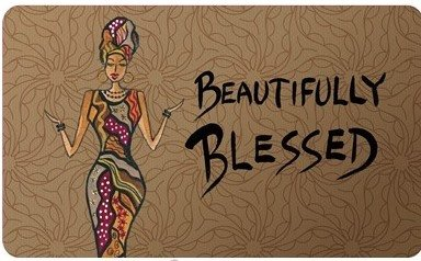 Interior Floor Mat (Beautifully Blessed)