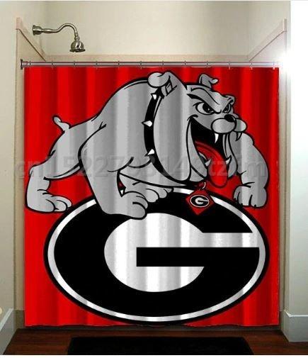 Shower Curtain (Georgia Bulldogs)