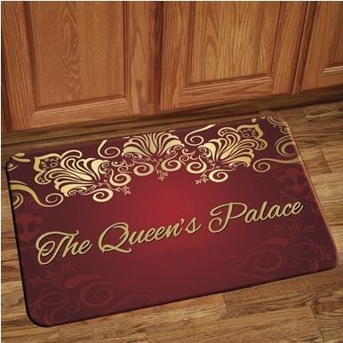 Interior Floor Mat (Queen's Palace-Red)