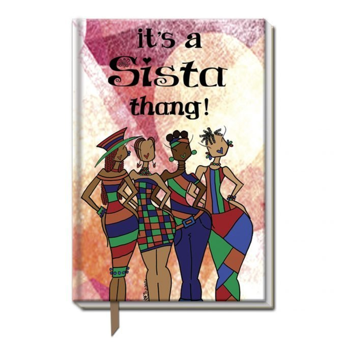 Cloth Bound Journal (It's A Sista Thang)