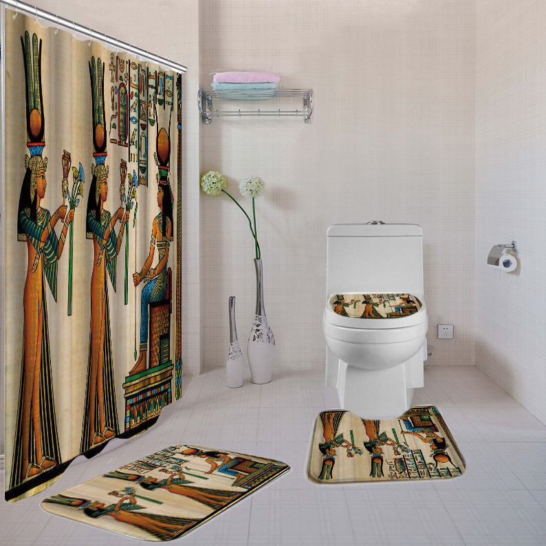 4-piece Bathroom Set (Girls Rule the World)