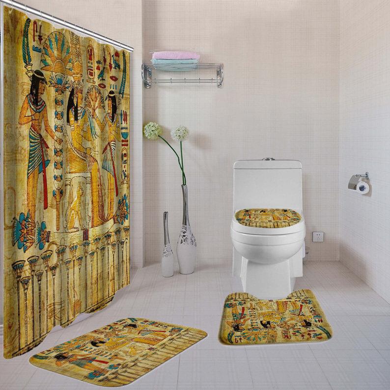Old Egyptian 4-piece  Bathroom Set