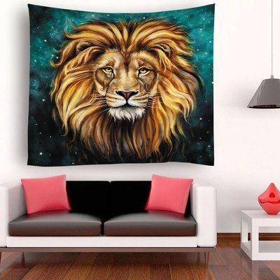 Emerald Lion King Tapestry