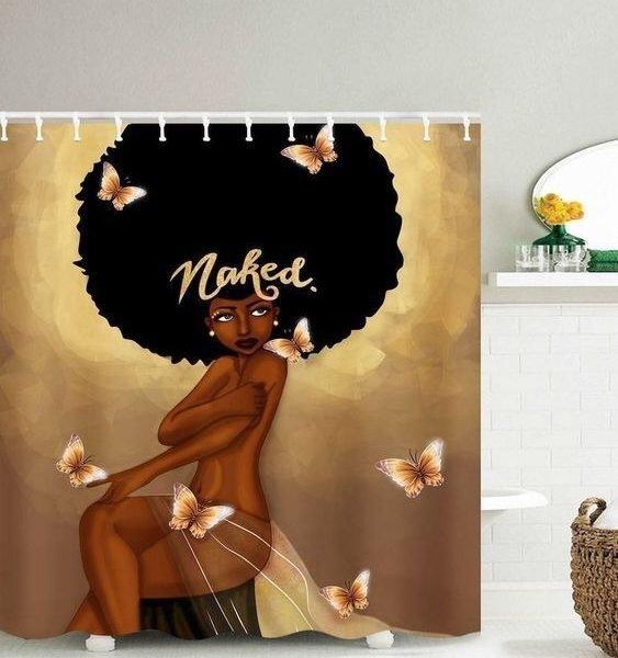 Shower Set (Naked Afro)