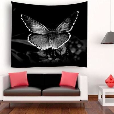 Retro Butterfly Tapestry
